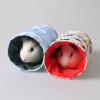 Зай Зай Ji маленьких домашних животных игрушка маленького питомец хомяк мультфильм Ежик гнездо шиншиллы одноканальных морские свинки канал синего кролик mimiworld виртуальный питомец игрушка виртуальный питомец сцена костюм детская радость аквариума