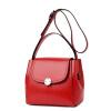 Mingxia MINGXIA кожаные сумочки наплечная сумка женская ручная сумка для женщин женская тенденция Корейский небольшой квадратный пакет MDX8202A элегантный черны сумка женская