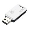 Стандарт Фэн (FB) 360 многоцелевой высокоскоростной считывания нескольких карт памяти мини-камера прямого считывания карт памяти SD SDHC TF MicroSD карта памяти 2 в 1 случайном цвете карта памяти other njm4560m te1 njr 2 37
