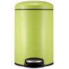 EKO бытовой мусор флип нога из нержавеющей стали мусор может приглушить Европейский 9113LI (зеленый) 8L trash eko индукция зарядка интеллектуальной электрический бытовой мусор из нержавеющей 9285mt песок стали 9l