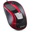 Кнопка (A4TECH) N-350 проводная мышь офис мышь USB мышь мышь для ноутбука красный и черный кнопка a4tech n 350 проводная мышь офис мышь usb мышь мышь для ноутбука черный