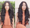 где купить Virgin Brazilian Hair 130 Density Glueless Full Lace Human Hair Wigs With Baby Hair по лучшей цене
