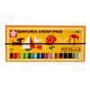 Sakura SQura LP16R 16-цветный малярный костюм (толстый) Японские студенты с искусственным мягким карандашом [Японский импорт]