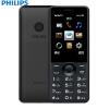 Philips E168 черный мобильный телефон Unicom 2G двойной телефон двойной режим ожидания мобильный телефон philips e168 black