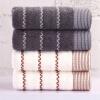 Xin бренд полотенце домой волна волна шерсть ремесло хлопок полотенце 2 шт бежевый / серый полотенце для кухни арти м петух волна