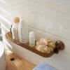 [Супермаркет] -US Jingdong магия присоска ванной стеллажи мытья ванной стойки стеллажи SM-1758