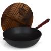 Джи Руи JR3081 чугунная сковорода с крыщей  31см kitchenaid чугунная квадратная сковорода с прессом 25х25 см кремовая