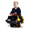 McKenzie большие строительные машины скользят игрушки на открытом воздухе дети могут сидеть KEJI бульдозер бульдозер (скользящая секция) 609 keji юбка брюки