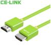 Фото CE-LINK 1921 HDMI кабель версия 1.4 2 м цифровой линии высокой четкости 24K позолоченные разъемы 4k * 2k поддержки кабель Поддержка 3D TV PC Orange Black ce link hdmi цифровой кабель hd 5 метров hdmi кабель удлинительный кабель 4k 2k компьютерный кабель tv 2286