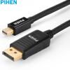 Constant продукт (PIHEN) PH-ZHX007 Mini DP Mini DisplayPort на HDMI кабель преобразователя HD линии Apple MacBook Thunderbolt подключен телевизор 1,8 м 3 in 1 mini dp displayport thunderbolt to hdmi dvi vga adapter for macbook