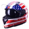 Танк (Tanked Racing) электрический автомобиль батареи мотоцикла шлемы с шлем двойной линзы воротник XL код T129 анфас шлем белый зимний Юнайтед