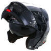 Tanked Racing Motorcycle Helmet Racing Helmet Facelift Helmet Dual Lens T270 Four Seasons Universal XL Code Black Gear 2017 new yohe half face motorcycle helmet yh 868 abs motorbike helmet double lens electric bicycle helmets for four seasons