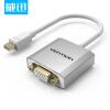(VENTION)Mini dp к vga/hdmi/dvi конвертер Apple интерфейс Mini DisplayPort 3 в 1 порт дисплея dp мужчина к hdmi dvi vga женский адаптер для портативных пк белый