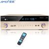 Amoi (Amoi) SA-580 5,1 домашний кинотеатр усилитель домашний профессиональный караоке OK усилитель мощности Bluetooth HD качество звука без потерь (Gold)