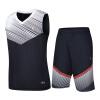 Иордании по баскетболу среди мужчин вязать костюм баскетбол одежда костюм XNT2372119 затмить синий L одежда для мужчин