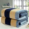 Итальянский клуб одеяло домашний текстиль толстый фланель одеяло сон кондиционирование одеяло полотенце лежало покрывало одеяло 1,5 * 2 м мода жизнь