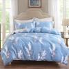 Ин Xin текстильной хлопок постельное белье, семьи с высокой плотностью четыре хлопка постельное белье люкс двукратное увеличение 1,5 / 1,8 м кровать Jin Shang (синий) постельное белье ecotex постельное белье шоколад