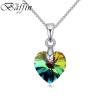 Baffin мини XILION Сердце ожерелье кристаллов из элементами Swarovski серебро Цвет Колье цепи для женщин дети ювелирные изделия