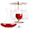 цена на Мика Ша (MKSA) европейские вина импортного вина подарочные коробки 6 Set (450мл красного вина * 6), подаренные домашнее вино стойку графин 1500ml открывалка для бутылок четыре комплекта