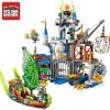 Просвещение (просветить) строительные блоки собраны обучающие игрушки для детей Нового замка рыцарей Warcraft серии слава военных атак кузницы игрушки для детей