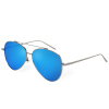 BLUEKIKI YEUX aviator women sunglasses polarized nickel-free metal frame design sunglasses women