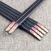 Палочки владелец палочки для еды палочки сплава нержавеющей роса пяти пар палочек для еды окрашивала ароматные ветви H812 палочки для еды didalife