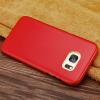 KONELТуше удобно кожа телефон защитный чехол маленький овчина защитный чехол применим к самсунг S7 edge самсунг джи 7 цена отзывы