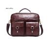 DALFR Натуральная кожа Мужские сумки на плечах 16/18 дюймов Половинная сумочка Повседневный стиль Сумки для мужчин Crazy Horse Lea мужские сумки
