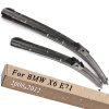 Wiper Blades for BMW X6 E71 24&20 Fit Side Pin Arms 2008 2009 2010 2011 2012