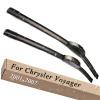 Wiper Blades for Chrysler Voyager Fourth Generation 26&26 Fit Hook Arms 2001 2002 2003 2004 2005 2006 2007 chrysler voyager iv 2001 2008