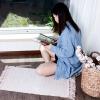 Youli моющегося двухстороннего ковер ручной работы Индийского Нордик гостиная ковер спальня прикроватного одеяло окно и бледно-розовый кизил 50см * 80см ковер windies