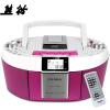 Panda (PANDA) CD-820 CD машина магнитофоны видео машины пренатальной машина DVD-плеер рекордер магнитофоны радио карты MP3 аудио (красный) машины chicco полицейская машина