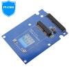 IT-директор IT-104 MSATA SSD с SATA жесткий стояк MSATA SSD 2,5-дюймовый SATA жесткий ящик