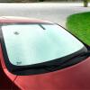Цзя Belle (Gabree) автомобиль козырек от солнца автомобиля переднего двойной толстый одиночный автомобиля козырек от солнца ВС блока перед блоком 140 * 75см