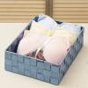 Европа Юна Чул корзины хранения плести корзины мусор мини версия ткани перчаточного ящика установлена 10см 5 Zhi