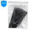 IT-директор V717-BL компьютер нейлоновые кабельные стяжки кабельные стяжки организатор для крепления шнура кабельные стяжки кабельные стяжки кабеля организатор перевязки группа из примерно 100 до примерно 150x2.2mm черный