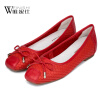 Женская обувь для одной обуви женская обувь flattie кожаная обувь asakuchi одиночная обувь