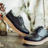 Си RUXI глубокий рот обувь женские туфли круглые плоские кружева Баллок вырезаны желтовато-коричневые ботинки 38 ботинки meindl meindl ohio 2 gtx® женские