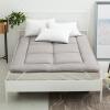 Ying Xin текстильного шлифовальные складной матрас двойного матрас суб-панель является обычным серым - для стандартного 1,5 м кровати