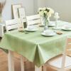 Jin Hua цвет Цяо Ли выгравированы воды и масла Одноразовая горячая рука пастырской ткань нашивки круглый столик журнальный столик коврик ткань может быть изменен Матча зеленый 130 * 180см