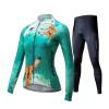 Mai Senlan (MYSENLAN) M0210401 весной и летом с длинными рукавами джерси костюмы женский горный велосипед велосипед одежды Волшебник страны Оз оленя M 63 rose de mai