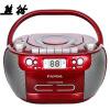 Panda (PANDA) CD-800 CD-плеер DVD-плеер магнитофон магнитофон MP3-карта U диск аудио фетальный учебный автомагнитола (красный) cd mp3 плеер
