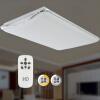 HD LED современный минималистский гостиной потолок квадратный потолок 90W дистанционного затемняя цветовая температура боковой профиль серии индивидуальность современный минималистский потолок