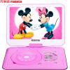 Malata (Malata) S130 портативный мобильный DVD-плеер (проигрыватель компакт-дисков пение машина машина видео театр отодвиньте проигрыватель CD-ROM) (розовый) диски malata в украине