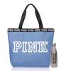 SECRET серо-голубой повелительницы плеча сумки холст пляж мешок чашка плюс Victoria `s Secret VICTORIA'S пакет 357205 77Q OS все цены