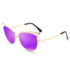 цена на BLUEKIKI YEUX cateye fashion sunglasses women polarized mirror vintage glasses