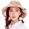 [Супермаркет] Jingdong GLO-STORY печать шить женскую шляпу большой головной шлем солнца разборный фланец защитного цвета фуражка WMZ724175 фланец плоский