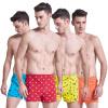 Мужские свободные одноцветные трусы-боксеры из хлопка jianjiang мужские трусы боксеры 2 шт