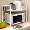 Бао Ni отличная кухня микроволновой печи стойка стеллажей для хранения стойки кухни стойки духовки стойки для хранения из нержавеющей стали пол DQ1210-C