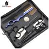 ht9153 профессиональный черный японии волосы ножницами установили 5,5 , 6 салоны красоты парикмахерская резки истончение ножницы авто в калуге салоны
